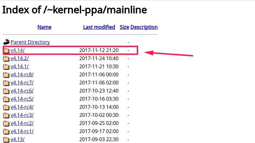 Baixar do Ubuntu para kernel i686