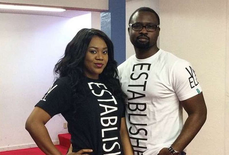 God brought us together - Stella Damasus' hubby gushes