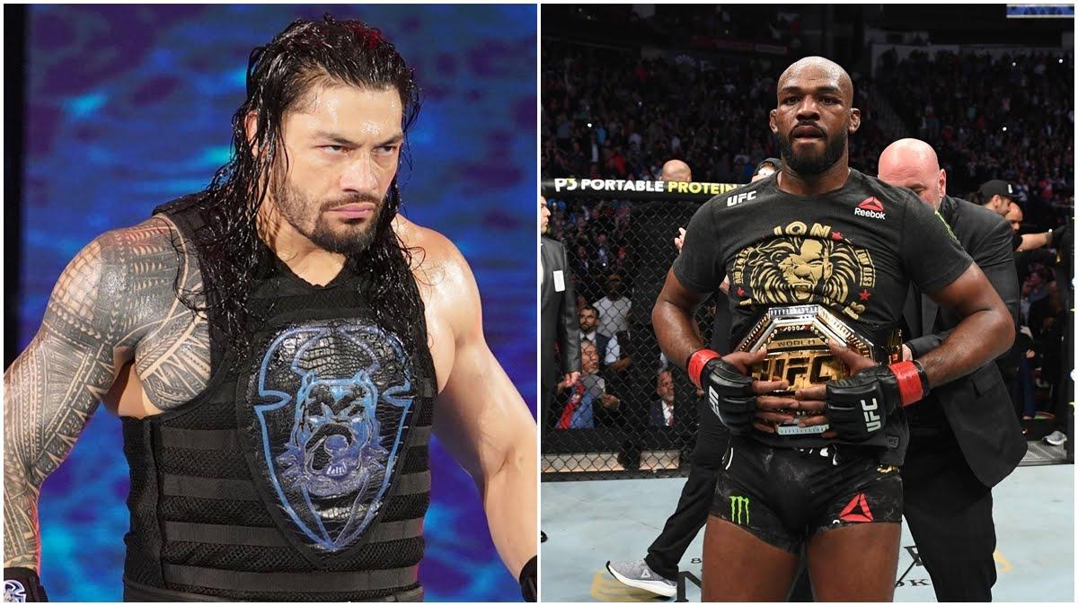 Roman Reigns fala sobre Jon Jones lutar na WWE