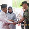 Danrem 141/Tp Dampingi Pangdam Hsn, Menjemput Wapres RI Jusuf Kalla di Kampus III Putri Bulu Lampang