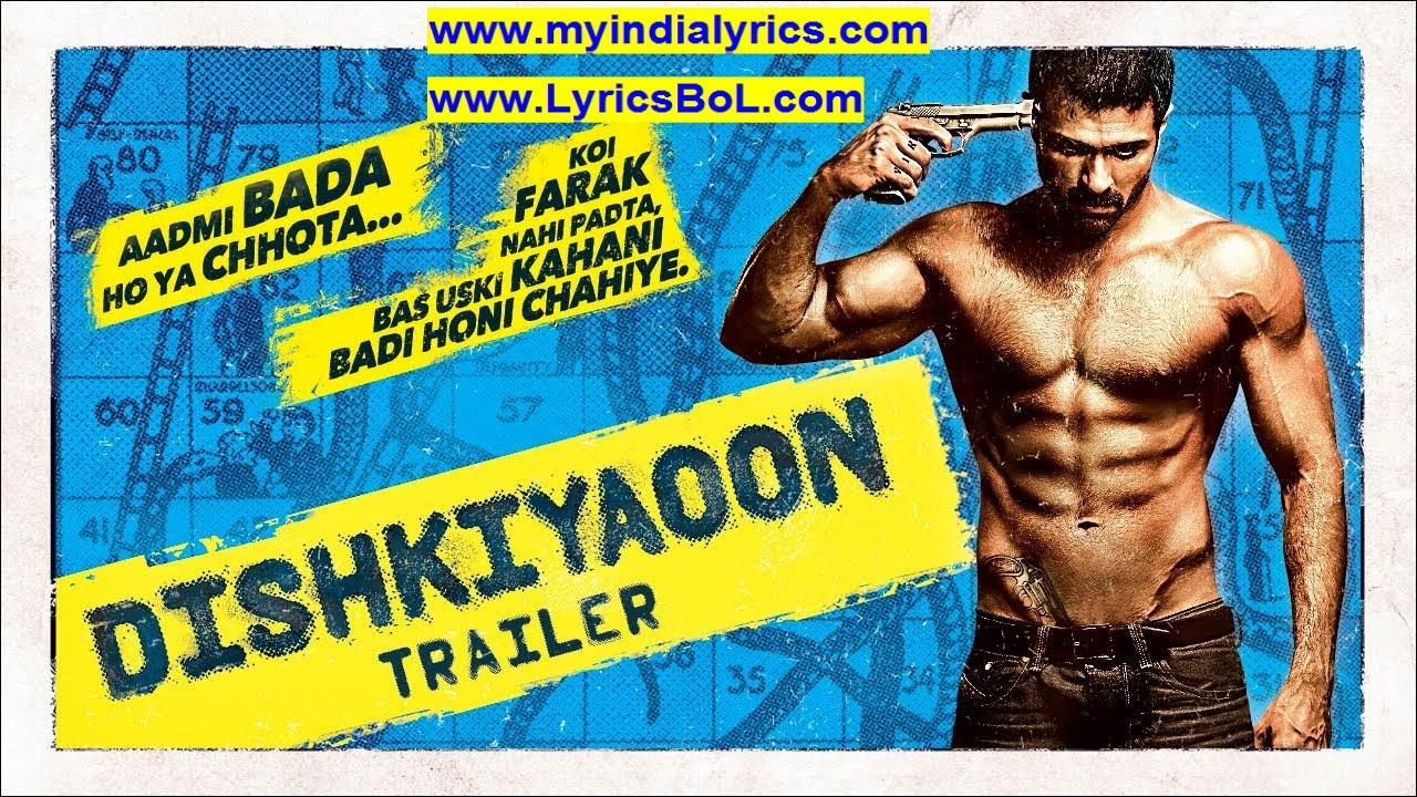 Nisar Lyrics Dishkiyaoon Movie mp3