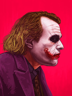 The Joker Portrait Giclee Print by Mike Mitchell x Mondo