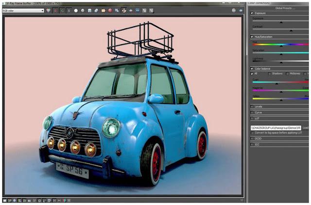 gach bong-CoFR6UK Thủ thuật tăng tốc render hình ảnh trong 3dsmax (Phần 2)