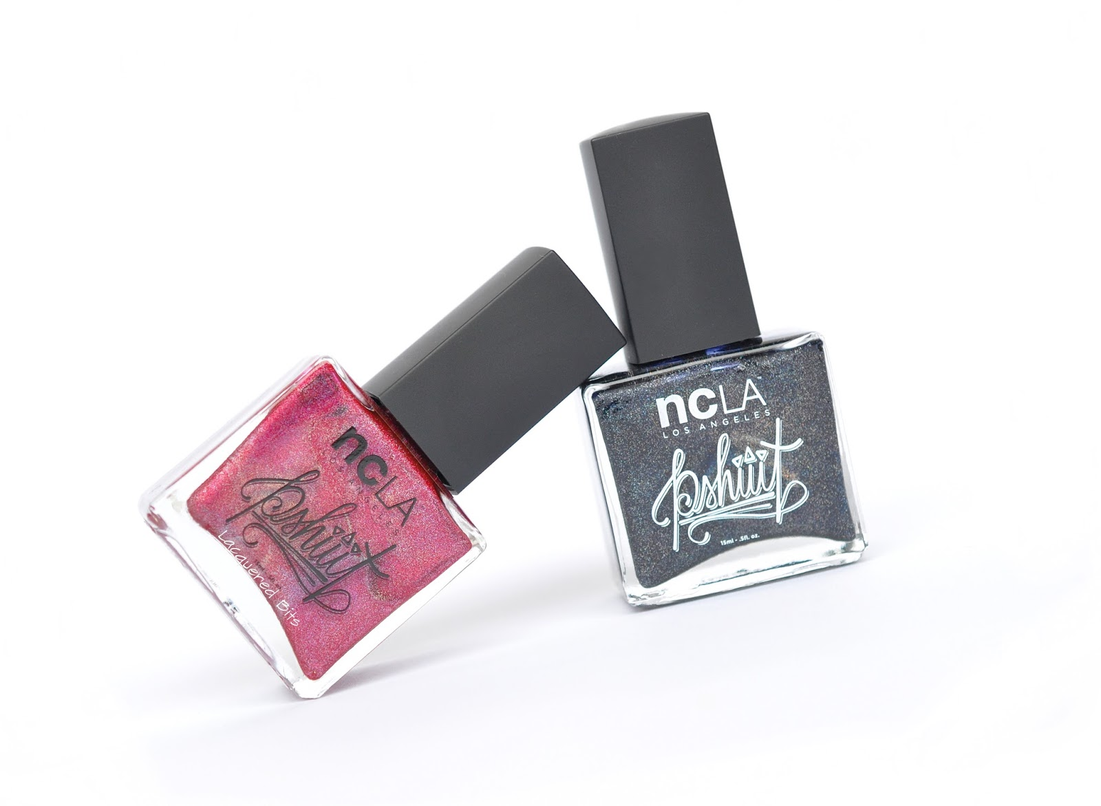ncLA & Pshiiit - Redicalist & Wandering Stars - Swatches & Review