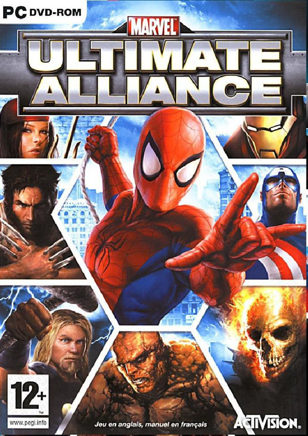Marvel Ultimate Alliance Download Cover Free Game