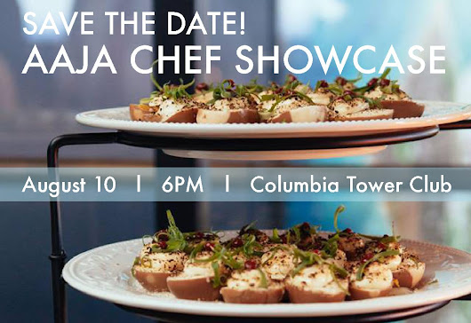 Seattle lifestyle & fashion - FreshJess.com: #Seattle Giveaway: AAJA Seattle Chef Showcase 2015