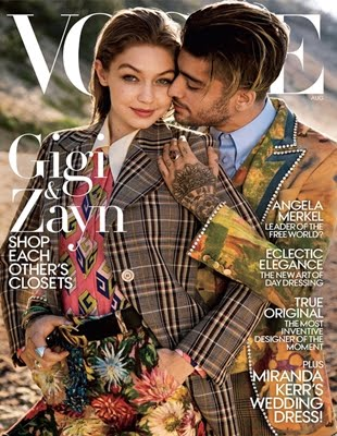 Gigi & Zayn On Vogue