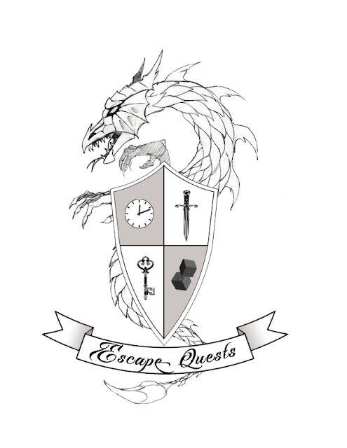 Escape Quest logo design