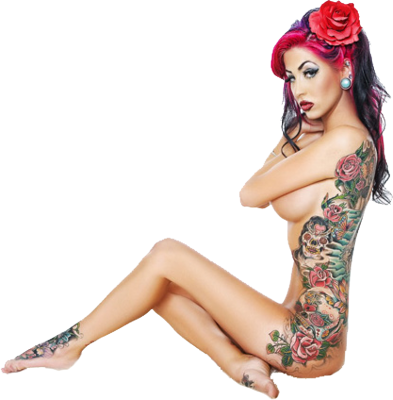 Consider, Nude pin up girls with tattoos sex