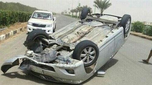 مصرع 5 أشخاص فى حادث انقلاب سيارة أثناء زفة فرح