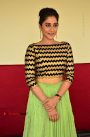 Actress Regina Candra Latest Pos in Green Long Skirt at Nakshatram Movie Teaser Launch  0116.JPG