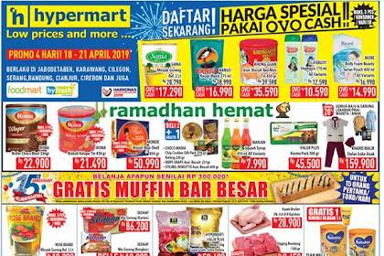 Promo Katalog Hypermart JSM Weekend 18 - 21 April 2019