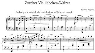 Richard Wagner: Züricher Vielliebchen-Walzer. 1854