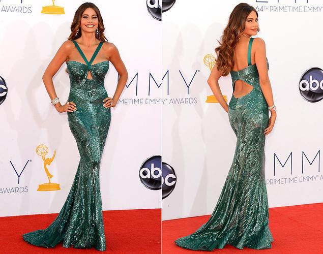 Wallpaper Kingdom Celebrity Red Carpet Fashion Sofia Vergara At 2012 Emmy Awards