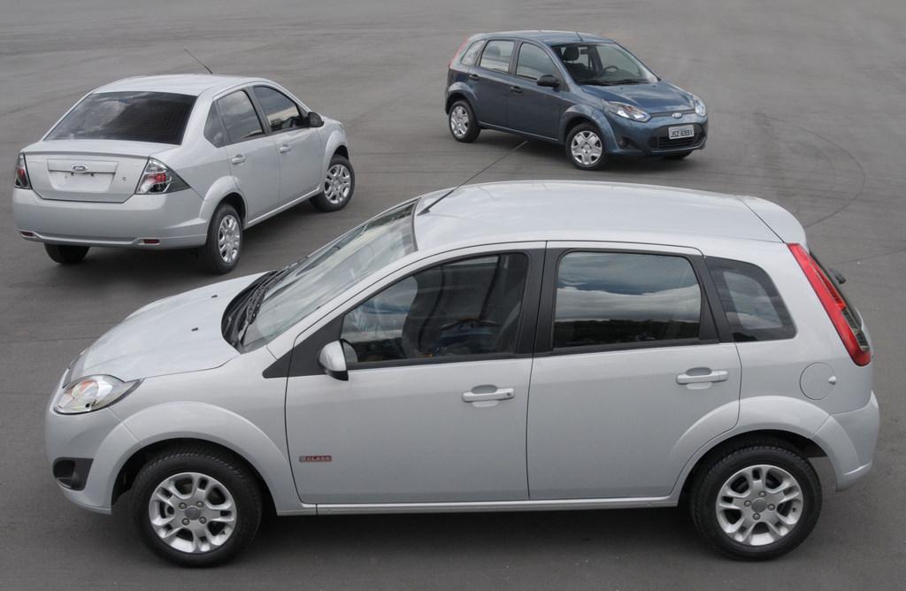 Ford Fiesta 2012 usado