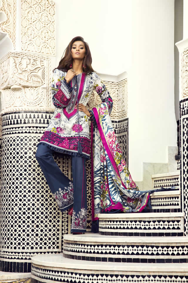 Elan By Khadija Shah Lawn Collection 2016