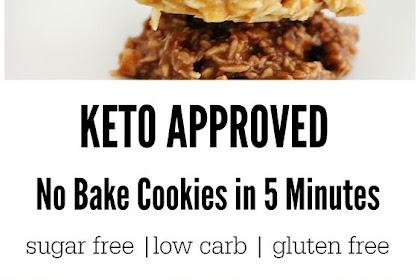 Keto No Bake Cookies In 5 Minutes Recipe