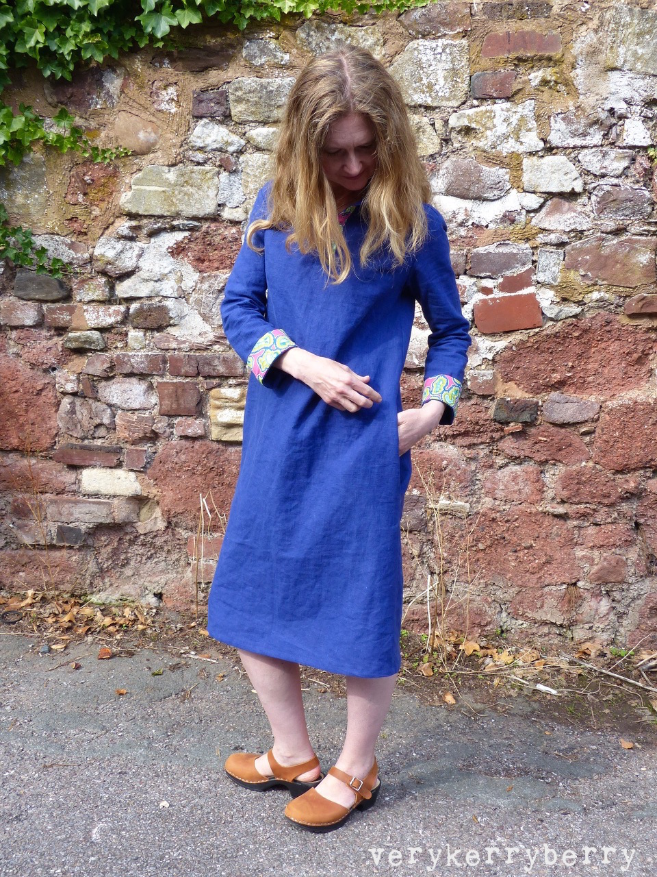 verykerryberry: Merchant and Mills Rugby Dress in Linen and Liberty