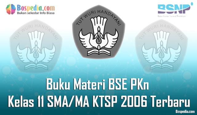 Buku Materi BSE PKn Kelas 11 SMA/MA KTSP 2006 Terbaru