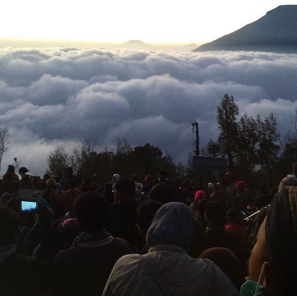 Enjoying the Peak of Dieng Plateau, Roof of Heaven in Indonesia