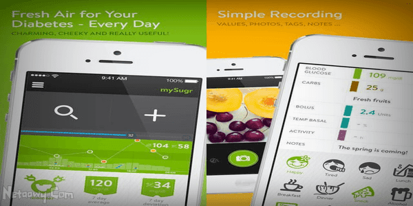 تطبيق-mySugr-Diabetes-Logbook