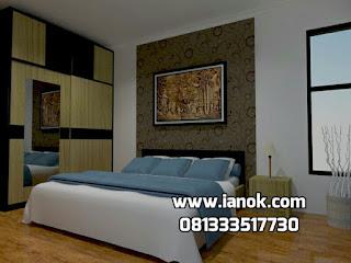 Desain kamar tidur apartemen minimalis surabaya sidoarjo
