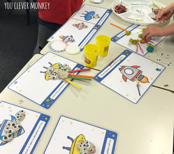 Space Pretend Play - ideas and simple to make resources for play in the Early Years | you clever monkey