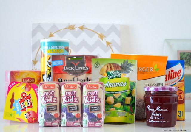 box - box alimentaire - box food - abonnement box