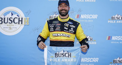 Paul Menard Rolls To The Pole At Chicagoland #NASCAR