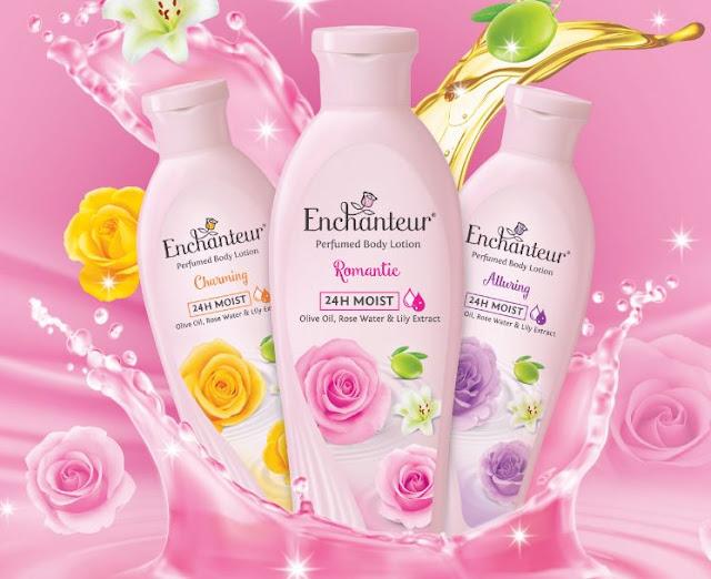 enchanteur 24h moist losyen, produk wangian enchanteur, enchanteur, losyen badan enchanteur, harga produk enchanteur