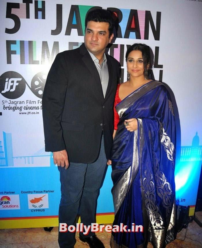Siddharth Roy Kapur, Vidya Balan, 5th Jagran Film Festival Red Carpet Pics