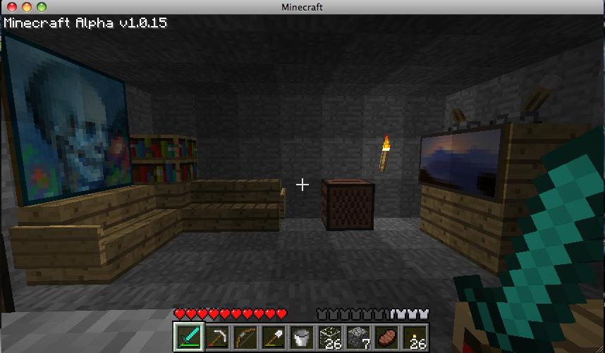 minecraft ideas: Living Room - Antic Grunt