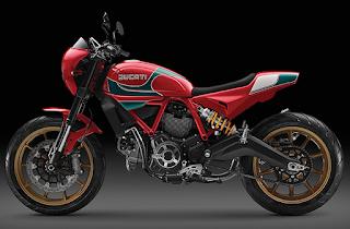 Ducati Ciptakan Scrambler Mike Hailwood Special Edition