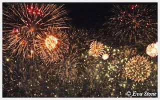 Eva Stone photo, Fireworks