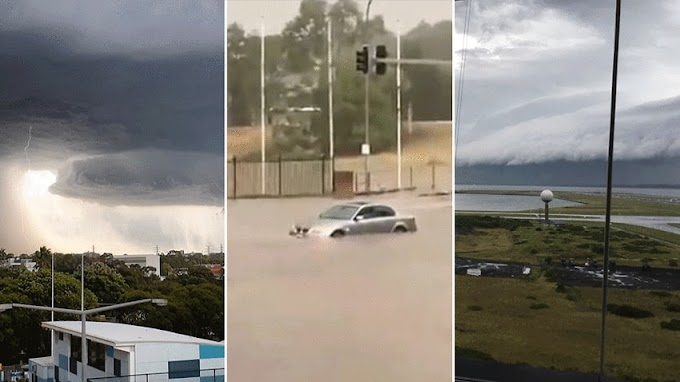 Sydney storm: Thousands remain without power after wild weather