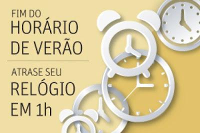 Atrase o seu relógio em 1 hora à meia-noite de hoje  (Agora São Paulo)