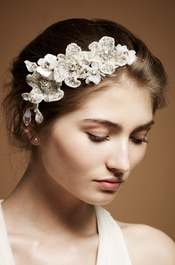 Hair accessories , Head pieces , wedding flower , White ...