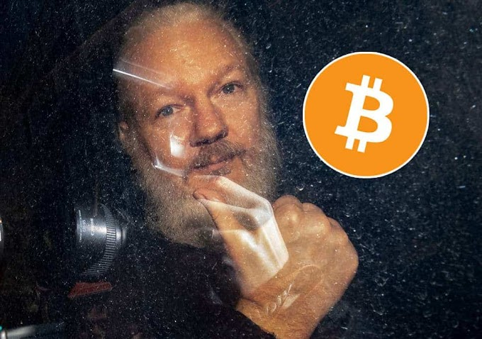 Over 40000$ Bitcoin Donations for Julian Assange Wikileaks founder after his arrest