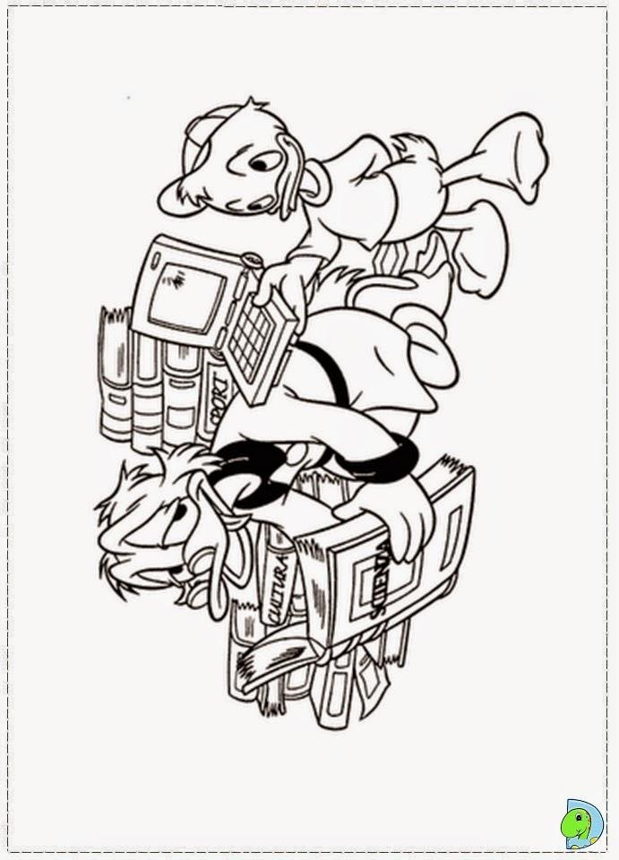 Dinokids Desenhos para colorir Desenhos do Tio Patinhas