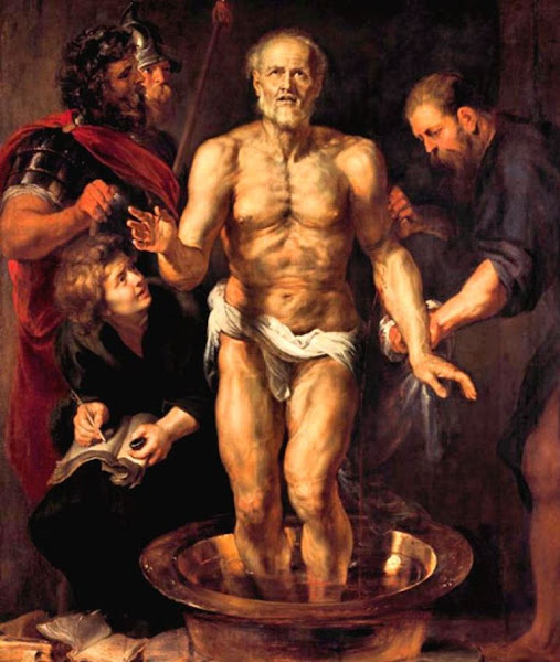 The Death of Seneca, Peter Paul Rubens, Macabre Art, Macabre Paintings, Horror Paintings, Freak Art, Freak Paintings, Horror Picture, Terror Pictures