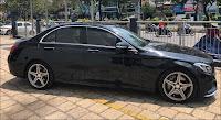 Mercedes C250 AMG 2015 đã qua sử dụng màu Đen