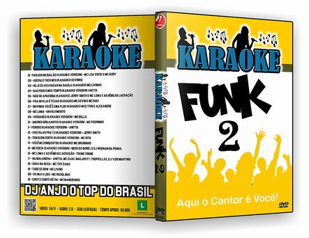 CAPA DVD – karaoke Funk Vol.2 – ISO