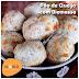 Receita FIT de pão de queijo de biomassa