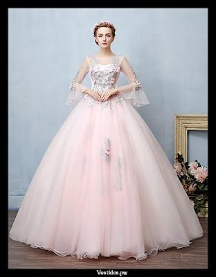 vestidos de 15 con luces