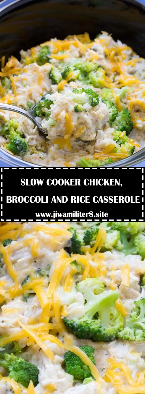 Slow Cooker Chicken, Broccoli And Rice Casserole - Recipes-6747