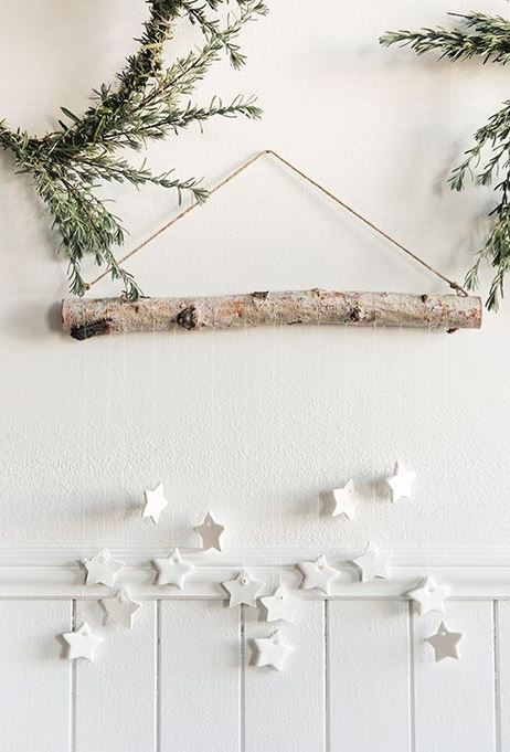 DIY Tiny Star Wall Hanging + Scandinavian Gatherings book