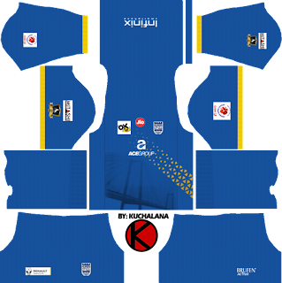 Mumbai City FC 2018 -  Dream League Soccer Kits