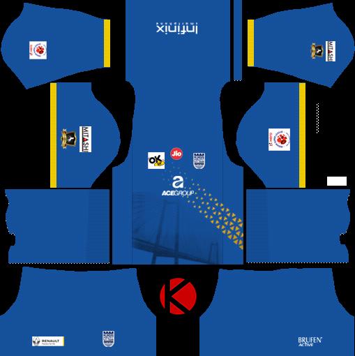 Mumbai City FC 2018 -  Dream League Soccer Kits
