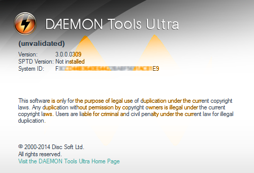 DAEMON Tools Ultra 3