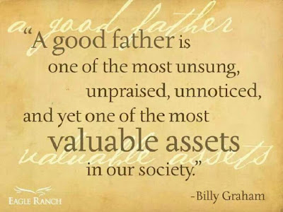 Father's Day Messages:A good father is one of the most unsung, upraised, unnoticed, and yet our of most valuable assets in our society